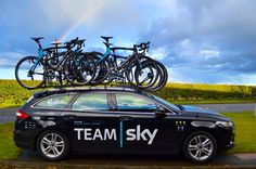 Team SKY cycling team car
