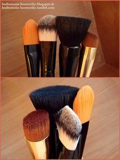 Hodnotenia kozmetiky: Prehľad štetcov na mejkap