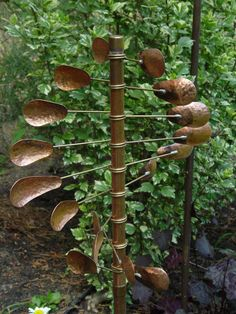 copper garden art images | via kenscoppercreations.com