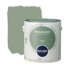 Histor Perfect Finish muurverf mat geordend 2,5 l Home Room Design, House Design, Colour Board, Creative Home, New Room, Kids And Parenting, Green And Gold, Home Deco, Home And Living