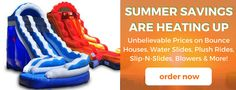 Shop Now this colorful inflatable water slide and double your backyard fun with your family!!