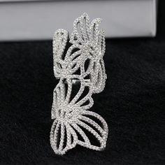 Find More Rings Information about Free Shipment Designer Style Women Fashion Sterling Silver With Platinum Plated Zircon Ring,High Quality fashion jewelry sterling silver,China silver wedding table decorations Suppliers, Cheap silver service place setting from Perfect-Jewellery on Aliexpress.com