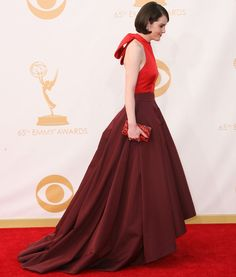 Michelle Dockery at the 65th Annual Primetime Emmy Awards held at Nokia Theatre L.A. Live in Los Angeles on September 22, 2013
