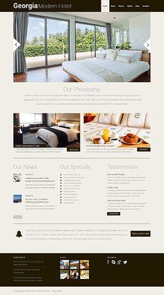 Hotel Responsive WordPress Theme