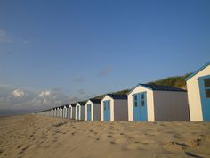 Texel, an Island in the Netherlands.  We were there in 2009.  Loved these little cabanas!