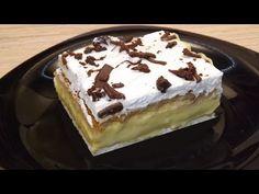 Kekszes krémes ( Sütés nélkül) - YouTube Healthy Breakfast Options, Egg Muffins, Tiramisu, Baking Recipes, Meal Prep, Deserts, Nutrition, Make It Yourself, Meals