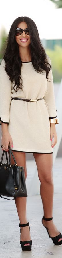 LWD little white #fashion #style