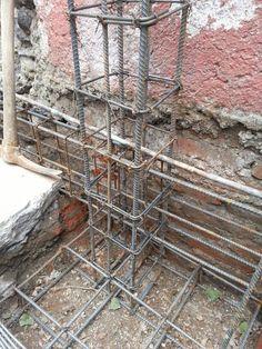 Footer prep Building Systems, Building Structure, Building Plans, Building A House, Concrete Footings, Concrete Stairs, Reinforced Concrete, Framing Construction, Civil Construction