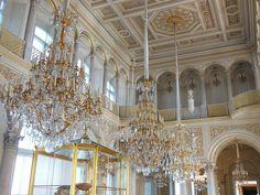 Hermitage - Pavilion Hall St. Petersburg, Russia Gorgeous museum!