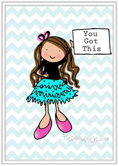 Free Printable from TheDoodleGirl.com!