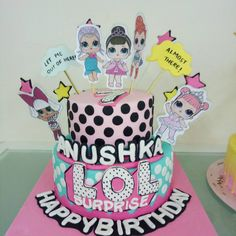#lolsurprisedolls #cake