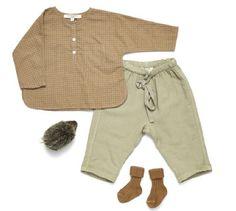 Summer shirt and pants - Caramel Baby & Child - Baby Boy Fashion, Toddler Fashion, Kids Fashion, Caramel Baby, Baby Kids Clothes, Baby Shirts, Summer Shirts, Baby Sewing, Kids Wear