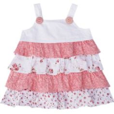 Love Henry Floral Frilly Dress