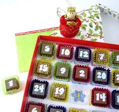 2013 Christmas count down, Chocolate advent calendar for 2013 Christmas. I know I'm going to be fat and I don't care.