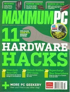 Maximum PC Magazine March 2012 (Volume 17 # 3) « Library User Group