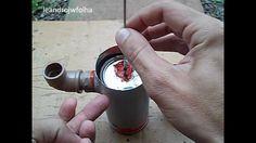 Como funciona um motor Stirling Gama caseiro - How works an simple Stirl...
