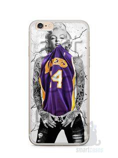 Capa Iphone 6/S Plus Marilyn Monroe Lakers - SmartCases - Acessórios para celulares e tablets :)