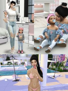 Free ideas every day Toddler Poses, Kid Poses, Lotes The Sims 4, Sims Cc, Sims 4 Cas Mods, Sims 4 Couple Poses, Sims 4 Toddler Clothes, Sims 4 Family, Sims 4 Black Hair