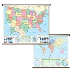 Ikea expedit system used as bench canvas map also from ikea kids amazon united states world map pull down roller map with wall gumiabroncs Images