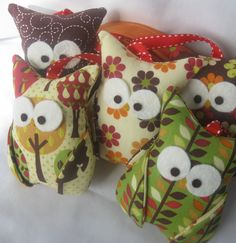 owl garland... a real hoot!