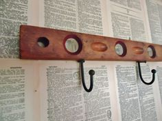 """From Knick of Time  (this would be a great way to use Daddy's old carpenter's level that doesn't """"level"""" any more!)"""