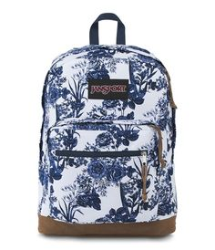 Find JanSport Right Pack Expressions Laptop Backpack - White Artist Rose online. Shop the latest collection of JanSport Right Pack Expressions Laptop Backpack - White Artist Rose from the popular stores - all in one Cute Backpacks For School, Stylish Backpacks, Cool Backpacks, Cute Jansport Backpacks, Outdoor Backpacks, Backpack Purse, Laptop Backpack, Travel Backpack, Fashion Backpack