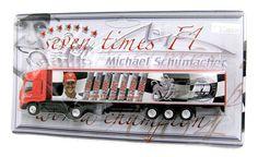 Michael Schumacher Formula 1 World Champion Diecast Transporter Sealed Packaging in Toys & Games, Diecast & Vehicles, Racing Cars | eBay #gift #fathersday #giftsformen #presentsformen #men #birthdaypresents #father #dad #boyfriend #brother #son #bestdad #giftsforguys #guys #HarvardMills #LordOfTheLinens #toy #FormulaOne