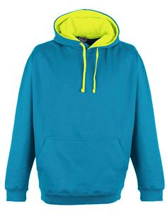 Superbright Hoodie - Sapphire Blue/Electric Yellow