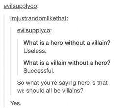 Im a villain