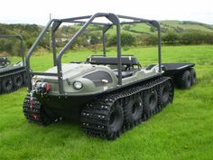 Argo 8x8 Conquest Diesel. I probably need one of these