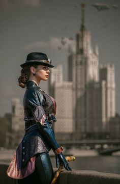 Steampunk Ladies | Beauty | Fashion | Costume | Creativity | Couture |