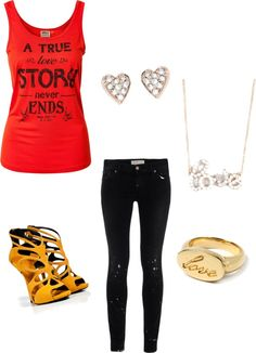 """""""Love never ends"""" by tfdennis on Polyvore"""
