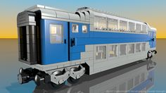 Lego 10002: Railroad Club Car - Customized by Davide Solurghi (Morpheus)