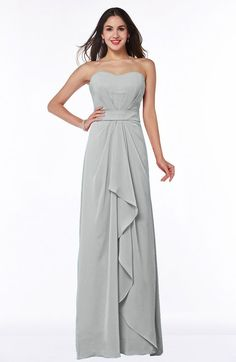 0a74b8e22809 Platinum Cute A-line Sleeveless Zip up Chiffon Sash Plus Size Bridesmaid  Dresses Dusty Rose