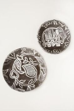 Air Dry Clay Project to make beautiful, original Boho Pottery dishes with PLUS air drying clay in black. These cute dishes are easy to make with this self hardening clay.