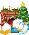 Animated Christmas Gifs - Cute/Disney - Angels - Christmas Divider Lines - loads of assorted xmas gifs for you Christmas Tree Gif, Very Merry Christmas, Christmas Animals, Disney Christmas, Christmas Lights, Disney Duck, Cute Disney, Disney Babies, Animiertes Gif