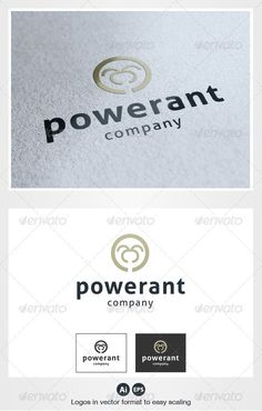 Power Ant Logo — Vector EPS #animal #animals • Available here → https://graphicriver.net/item/power-ant-logo/2871469?ref=pxcr