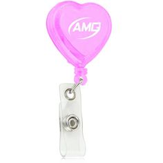 Trade shows are great for generating business. When customers receive Heart Shaped Retractable ID Badge as an invitation, it's mainly built up for badge holding, holding keys and features heart shaped, built-in high elastic spring, retractable nylon cord expansion up to 900MM, snap strap, metal clip will have them wondering what else your company has to offer. More Info: http://avonpromo.com/heart-shaped-retractable-badge-p-9352.html