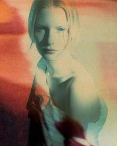 Kirsten Owen by Paolo Roversi for Romeo Gigli S/S 1988
