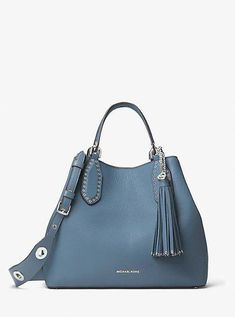 Brooklyn Large Leather Tote #Burberryhandbags