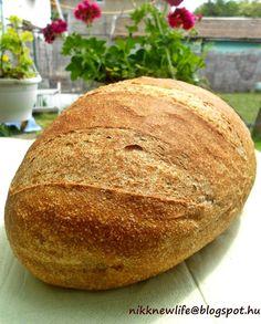 NIKK NEW LIFE - ÚJ ÉLET SZABADON, BOLDOGAN, JÓÍZŰEN: A KENYÉR - teljes kiőrlésű zürichi Bread Baking, Low Carb Recipes, Bakery, Food, Breads, Healthy Food, Diet, Baking, Low Carb