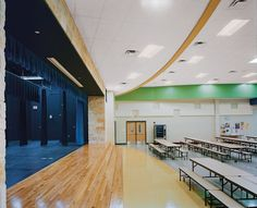 Tectum Direct-Attach Wall Panels provide durable, sustainable, acoustical options for a wide variety of applications.
