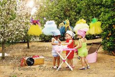 Disney Inspired Wash Day / Tea Party Photo shoot Disney Dresses by Dressed by Denise Photo by J Bunker Photography