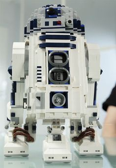 R2-D2 LEGO set coming soon...stands just short of a foot tall, and will cost around $250 (shhhhh-don't tell my boys!)