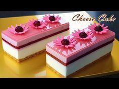 No-Bake / NO-Egg / 라즈베리 치즈케이크 만들기/ Eggless / How to make raspberry cheesecake /रास्पबेरी चीज़केक - YouTube