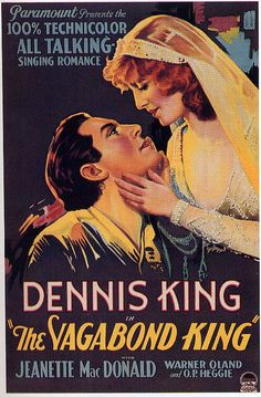 The Vagabond King -Jeanette MacDonald, 1930