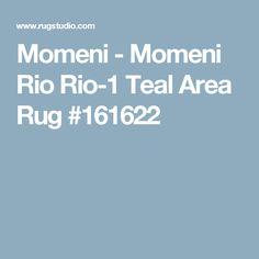 Momeni - Momeni Rio Rio-1 Teal Area Rug #161622