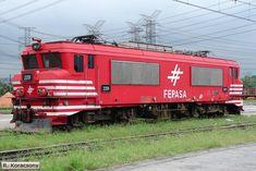 Rio Grande, Electric Locomotive, Biscuit, Chile, Brazil, Bar, Wagon Wheels, Train Tracks, 1980s