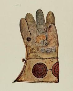 Hawking glove of Henry VIII. In: Royal and historic gloves and shoes The Mary Ann Beinecke Collection of Decorative Art. Tudor History, British History, Tudor Monarchs, English Monarchs, Renaissance, Tudor Dynasty, King Henry Viii, Tudor Era, Historical Clothing