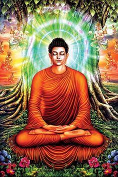 A Di Da Phat Quan The Am Guanyin Buddha 1444 by kwanyinbuddha on deviantART Buddha Life, Buddha Art, Giant Buddha, Buddha Decor, Meditation, Buddha Temple, Buddha Painting, Gautama Buddha, Guanyin